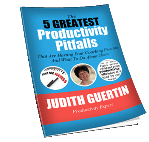Download Free Ebook: 5 Greatest Productivity Pitfalls That Are Hurting Your Coaching Practice and What to Do About Them.